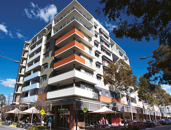 Photograph of a building in Rouse Hill