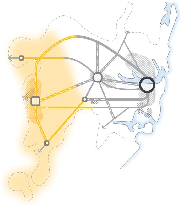 Western City highlight map